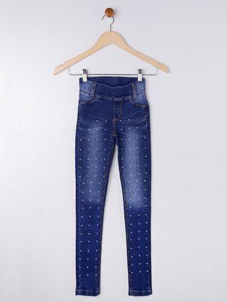 Calça Jeans Juvenil para Menina - Azul