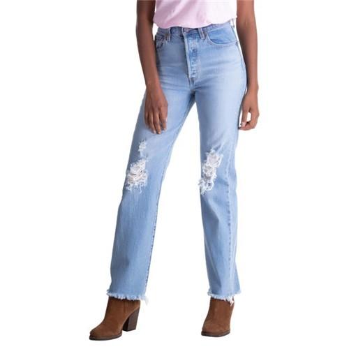 Calça Jeans Levis Ribcage Full Length - 26X32