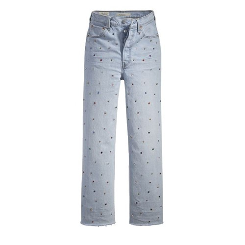 Calça Jeans Levis Ribcage Straight Ankle - 26X29