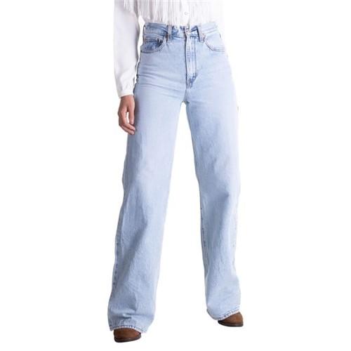 Calça Jeans Levis Ribcage Wide Leg - 30X34