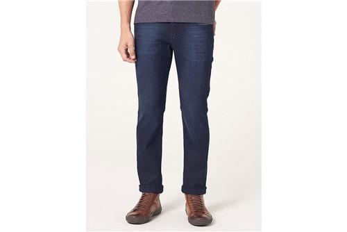 Calça Jeans Londres com Bigode - Azul - 40