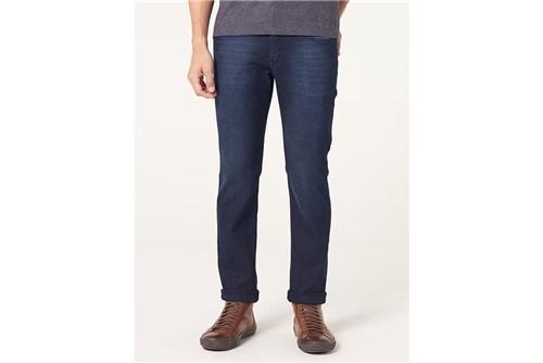 Calça Jeans Londres com Bigode - Azul - 38