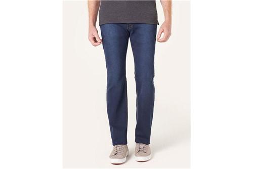 Calça Jeans Londres Contraste Linha - Azul - 38