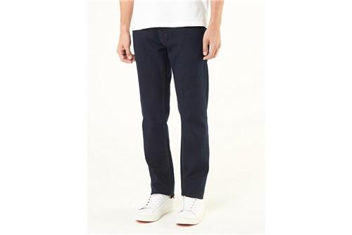 Calça Jeans Londres Dark Basic - Azul - 38