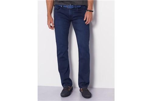 Calça Jeans Londres de Viscose - Azul - 42