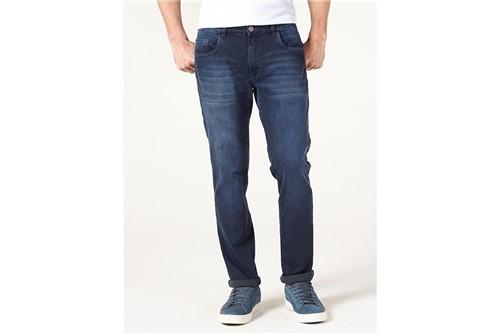 Calça Jeans Londres Deep Blue - Azul - 42