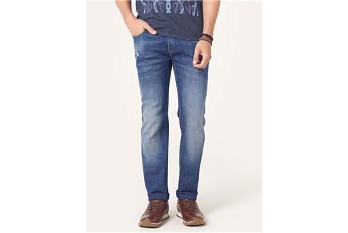 Calça Jeans Londres Detonada - Azul - 38
