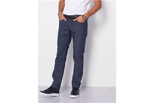 Calça Jeans Londres Mescla - Azul - 48
