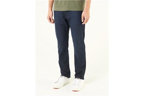 Calça Jeans Londres Mix de Linhas - Azul - 38
