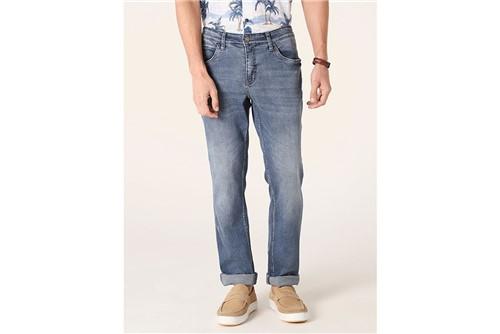 Calça Jeans Londres Pinos - Azul - 38