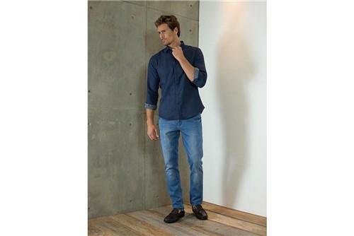 Calça Jeans Londres Repelente - Azul - 46