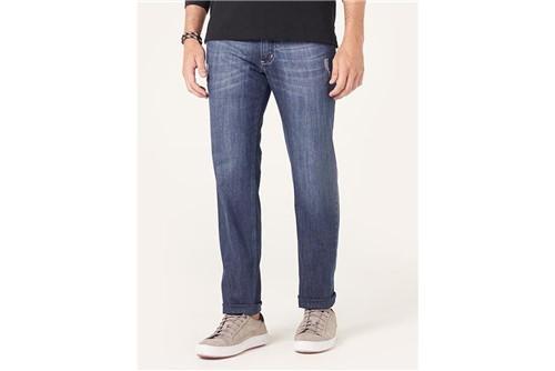 Calça Jeans Londres Stonada - Azul - 38