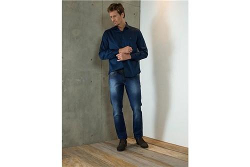 Calça Jeans Londres Stone - Azul - 40
