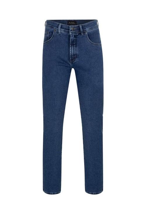 Calça Jeans Malha Denim Comfort Blue 40