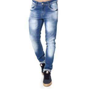 Calça Jeans Masculina Azul 42