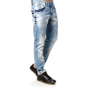 Calça Jeans Masculina Azul 38