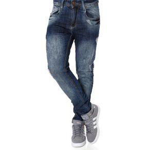 Calça Jeans Masculina Azul 44