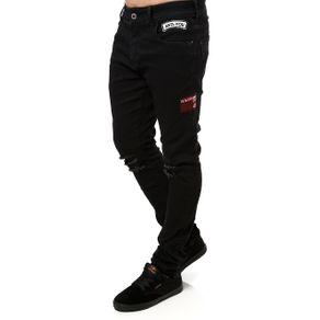 Calça Jeans Masculina Preto 42