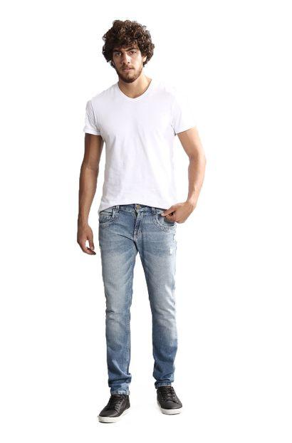 Calça Jeans Masculina Skinny - 250275 36