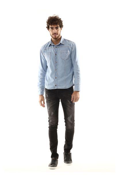 Calça Jeans Masculina Skinny - 254227 36