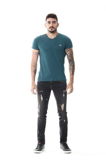 Calça Jeans Masculina Skinny - 255022 38