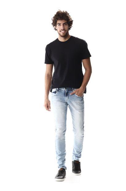 Calça Jeans Masculina Skinny - 257078 36