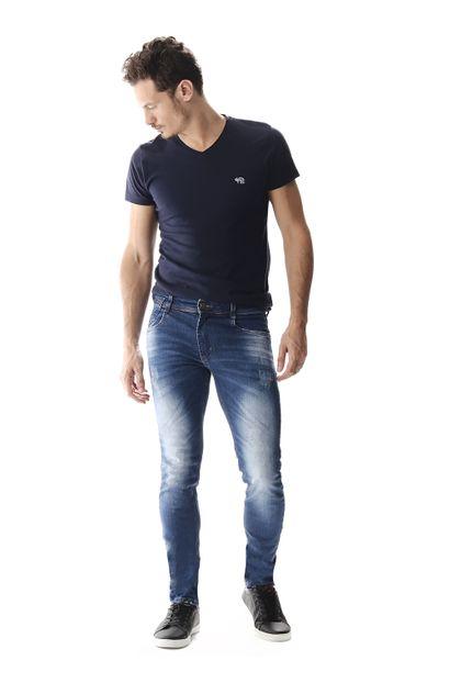 Calça Jeans Masculina Skinny - 257557 36