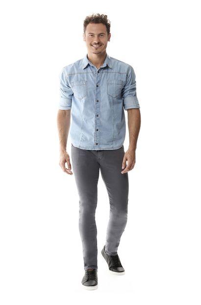 Calça Jeans Masculina Skinny - 258321 36