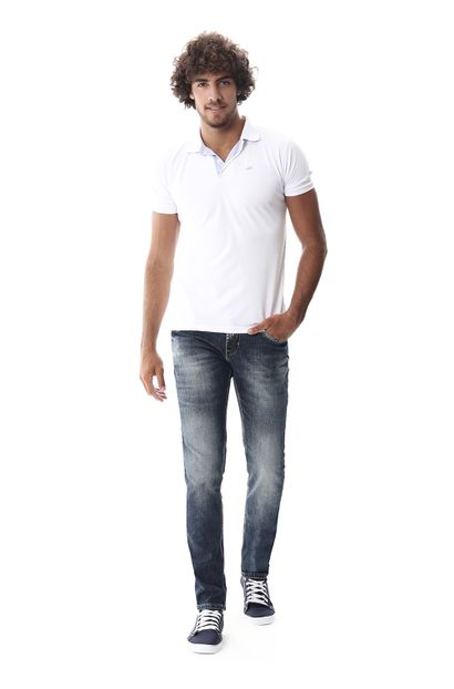 Calça Jeans Masculina Skinny - 258337 36