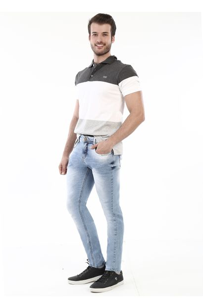 Calça Jeans Masculina Skinny - 260676 36