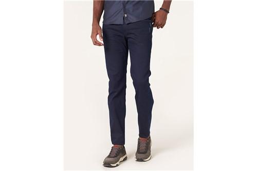 Calça Jeans Milão Dark Puídos - Azul - 38