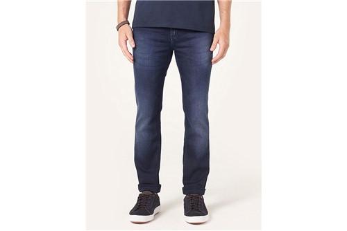 Calça Jeans Milão Dark Viscose - Azul - 38