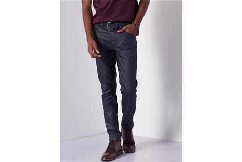 Calça Jeans Milão Resinado - Azul - 44