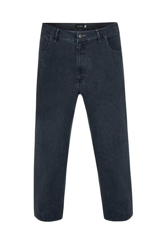 Calça Jeans Plus Size Dark Índigo 54