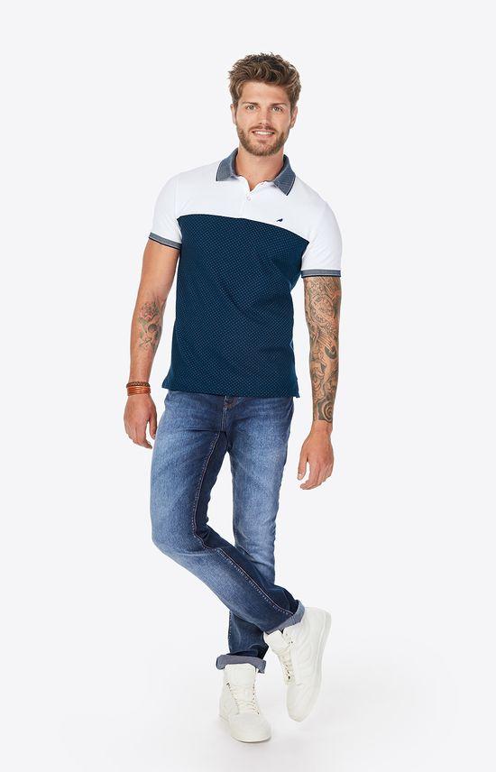 Calça Jeans Reta Estonada Enfim Azul Claro - 38