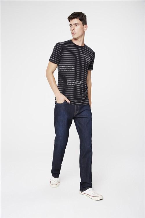 Calça Jeans Reta Masculina