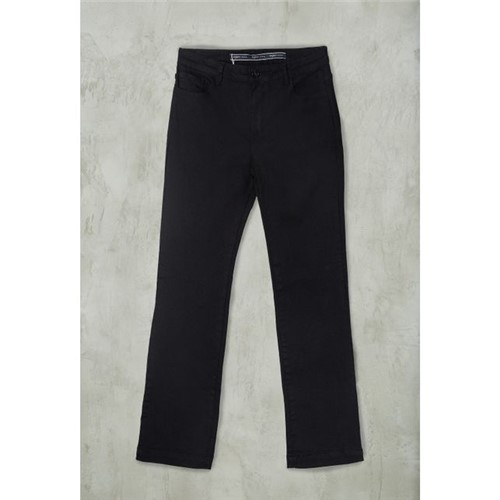 Calça Jeans Reta Premium PRETO/36