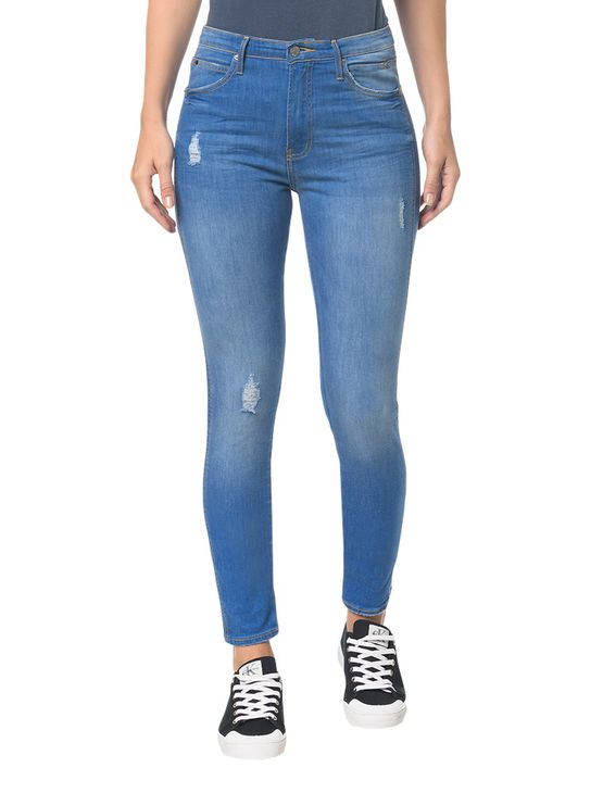 Calça Jeans Sculpted - Azul Royal - 34
