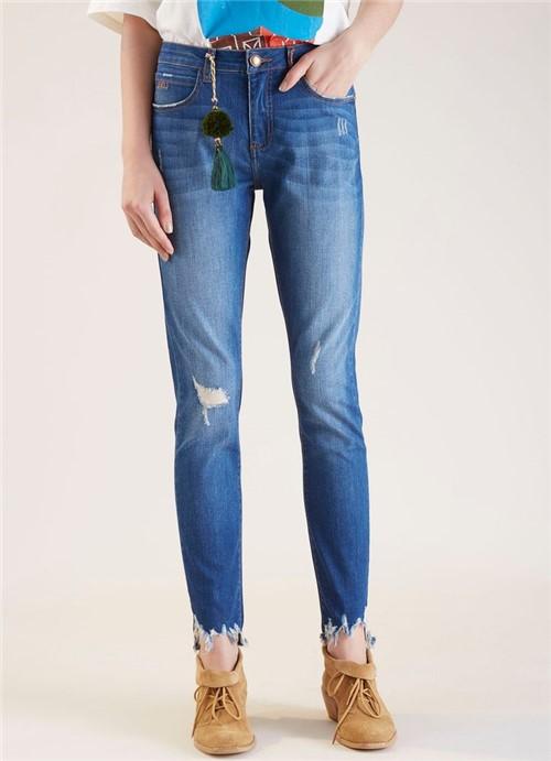 Calça Jeans Skinny Army Premium Jeans 34