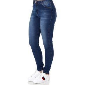 Calça Jeans Skinny Feminina Azul 44