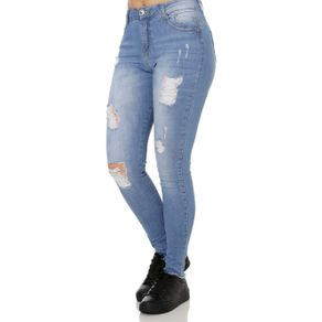 Calça Jeans Skinny Feminina Azul 40