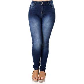 Calça Jeans Skinny Feminina Azul 46