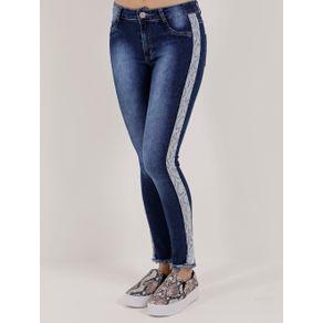 Calça Jeans Skinny Feminina Azul 36