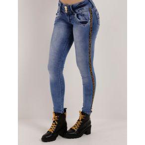 Calça Jeans Skinny Feminina Azul 38
