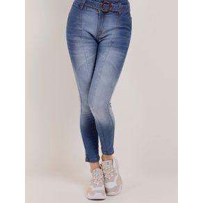 Calça Jeans Skinny Feminina Zune Azul Calça Jeans Feminina Azul 46