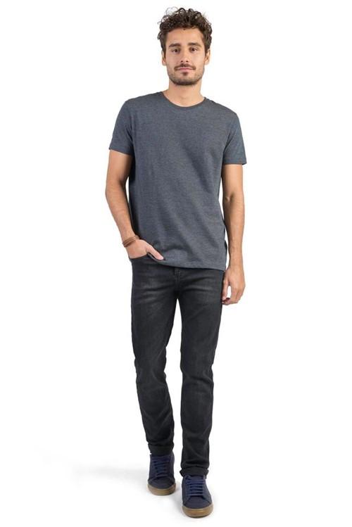 Calça Jeans Skinny Flex Black BLACK/40