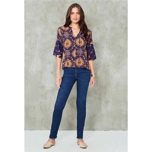 Calça Jeans Skinny Premium AZUL ESCURO/42