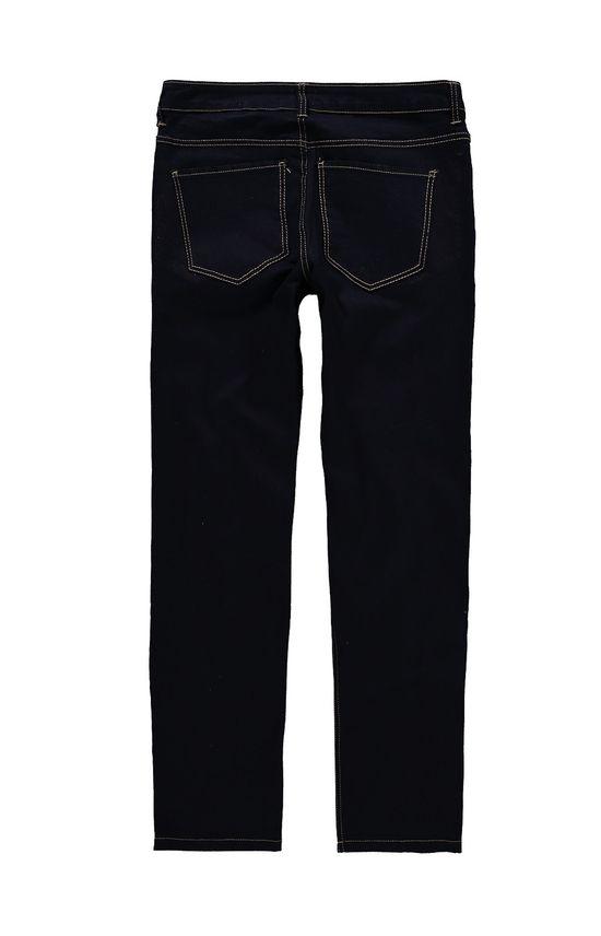 Calça Jeans Tradicional Cintura Alta Malwee Preto - 38