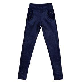 Calça Juvenil para Menina - Azul 10