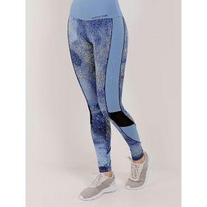 Calça Legging Feminina Azul GG